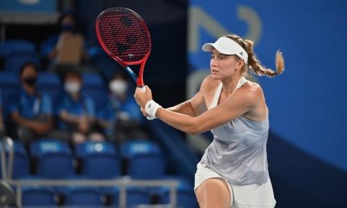 Теннисистка Елена Рыбакина потерпела фиаско в матче за «бронзу» Олимпиады-2020