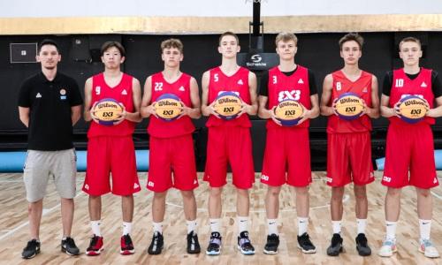 В Алматы началась подготовка сборной Казахстана по баскетболу 3×3 к розыгрышу Кубка Мира среди юношей