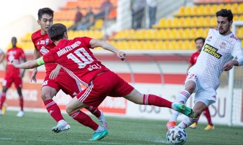 «Актобе» проиграл четвертый подряд матч и стал первым неудачником группового этапа Кубка Казахстана