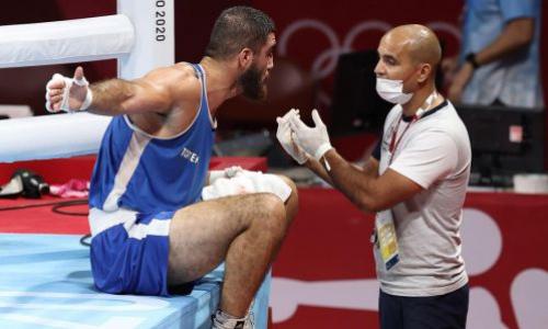 Появилось видео громкого скандала в боксе на Олимпиаде-2020