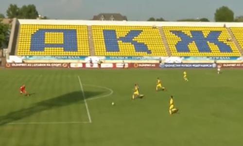 Видеообзор матча Кубка Казахстана «Акжайык» — «Астана» 3:0