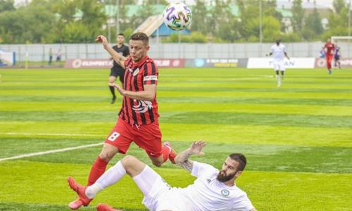 «Ордабасы» и «Кызыл-Жар СК» выявили победителя в матче с удалением вратаря на третьей минуте