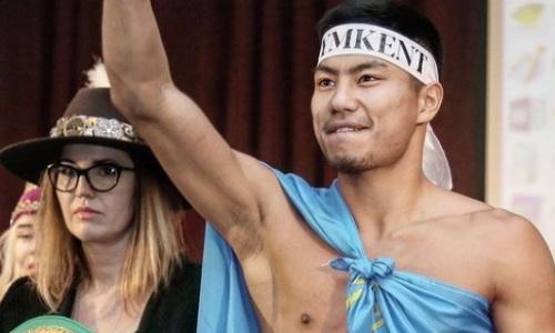 Непобежденный казахстанский боксер вплотную приблизился к ТОП-10 рейтинга WBA