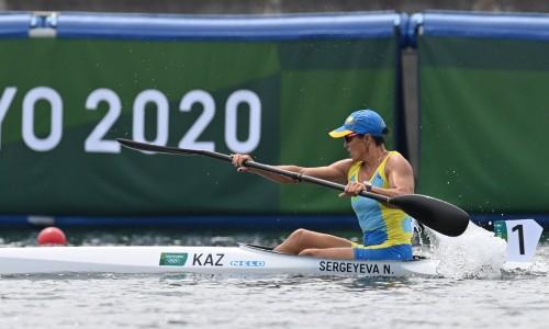 Казахстанка пробилась в четвертьфинал соревнований на байдарке Олимпиады-2020