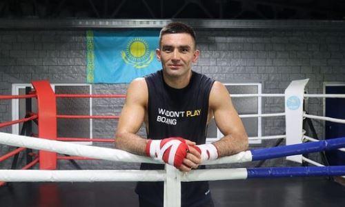 Казахстанский боксер проводит тренировки в одном зале с Пакьяо. Видео