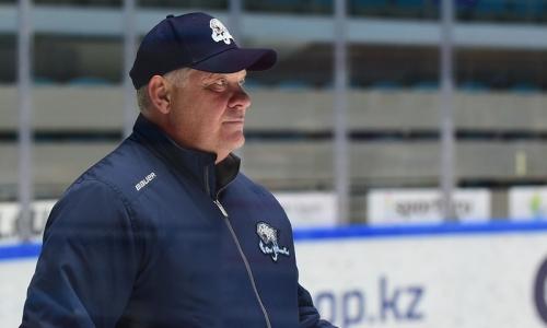 «Мощные нагрузки были». Юрий Михайлис подвел итоги первого УТС и рассказал о составе и сочетаниях «Барыса» на следующий сезон КХЛ