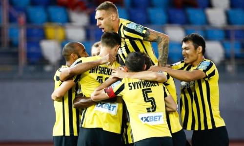 «Кайрат» является тотальным фаворитом первого матча против «Алашкерта»
