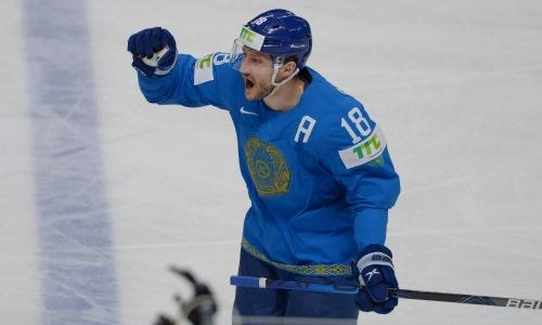 Хоккеист сборной Казахстана попал в первое звено топ-клуба КХЛ