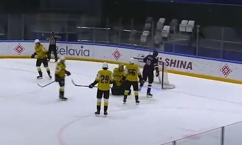 Появилось видео первого гола форварда сборной Казахстана в составе «Металлурга»