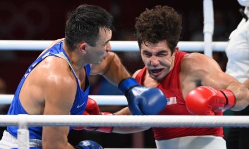 Капитана сборной Казахстана по боксу отправили в нокдаун и оставили без финала Олимпиады-2020