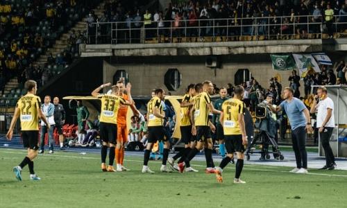Прямая трансляция матча «Кайрат» — «Алашкерт» в Лиге Европы