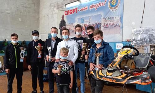 Карагандинские гонщики стали первыми на чемпионате РК по картингу
