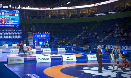 Казахстанский борец сразится за «бронзу» юниорского чемпионата мира