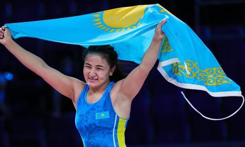 Видео победы Казахстана, или Как была завоевана золотая медаль юниорского чемпионата мира по борьбе
