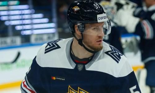 Клуб хоккеистов сборной Казахстана объявил о расторжении контрактов с двумя защитниками