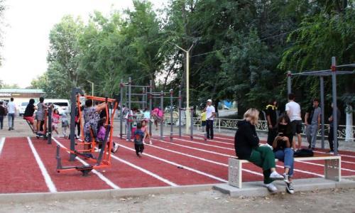 Cпортивные объекты появляются в Таразе в рамках проекта «Таразға тарту»