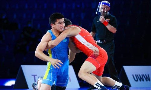 «Я был готов на все сто». Казахстанский вольник расказал о «серебре» юниорского чемпионата мира