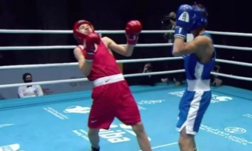 Все честно? Видео боя, в котором двукратный чемпион Казахстана по боксу спорно проиграл узбеку на пути к финалу МЧА-2021