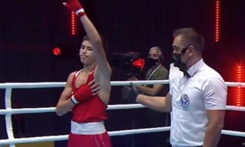 Первый казахстанский боксер вышел в финал МЧА-2021