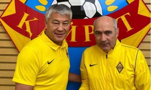 Стали известны детали контракта Курбана Бердыева с «Кайратом»