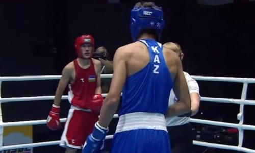 Казахстан проиграл второй бой Узбекистану за выход в финал МЧА-2021 по боксу