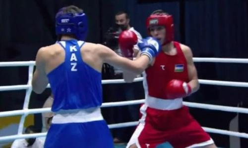Видео боя, или Как Казахстан опять уступил Узбекистану на МЧА-2021 по боксу