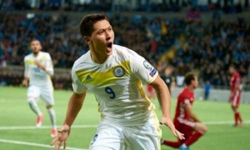 Стало известно имя игрока сборной Казахстана, который проходит просмотр в клубе УПЛ