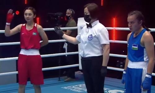 Казахстанские боксерши зарубились с Узбекистаном в пятый день МЧА-2021