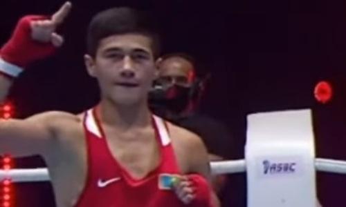 Казахстанский боксер стал героем дня на континентальном первенстве