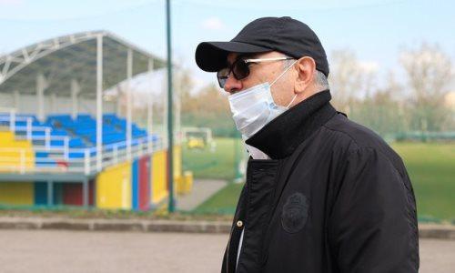 УЕФА обратилась к главному тренеру «Кайрата»