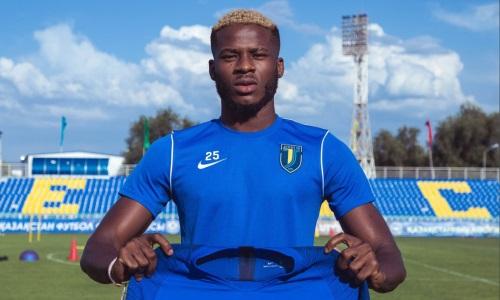 Казахстанский клуб подписал нигерийского легионера из УПЛ