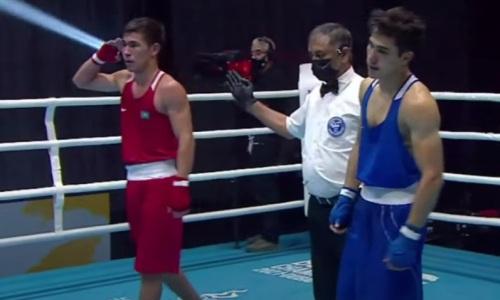Чемпион Азии из Казахстана совершил камбэк и поборется за «золото» МЧА-2021 по боксу