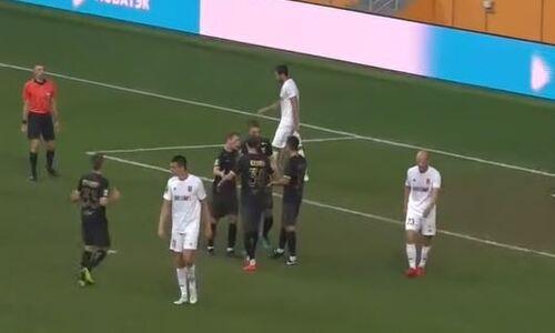 Муртазаев забил свой первый гол за клуб из России. Видео