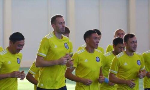 Сборная Казахстана начала подготовку к сентябрьским матчам отбора ЧМ-2022. Фото