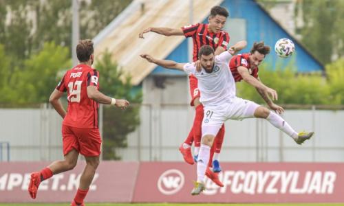 Прямая трансляция матча Премьер-Лиги «Ордабасы» — «Кызыл-Жар СК»