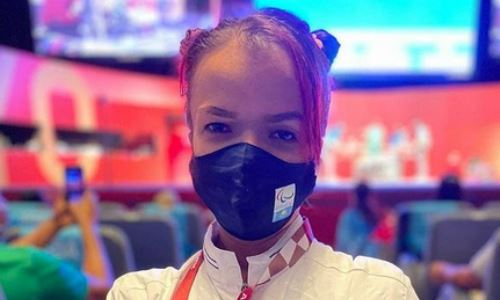 «В Париже будет лучше». Казахстанская пауэрлифтерша оценила свое выступление на Паралимпиаде-2020