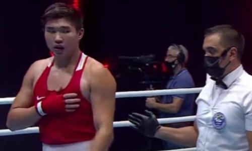 Казахстанский супертяж сразится за «золото» МЧА-2021 по боксу