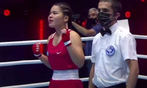 Три нокаута и победа над Узбекистаном. Казахстанские боксерши триумфально выступили в полуфинале МЧА-2021