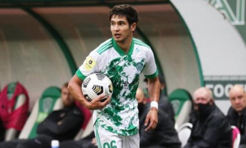 Футболист сборной Казахстана восстановился от травмы и попал в стартовый состав клуба на матч РПЛ