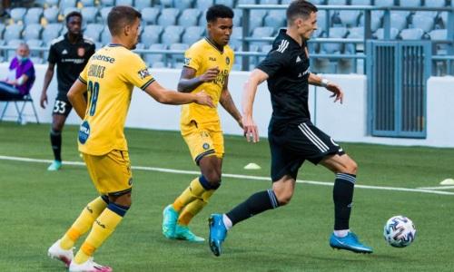 Закончился первый тайм матча «Маккаби» — «Шахтер» в плей-офф Лиги Конференций