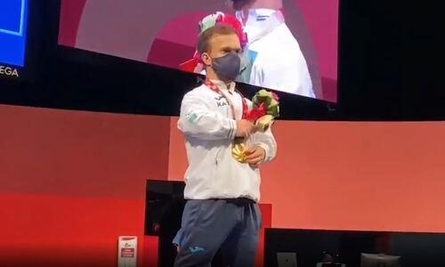 Гимн Казахстана впервые прозвучал на Играх в Токио. Видео