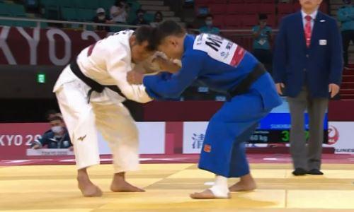 Казахстанский дзюдоист вышел в полуфинал Паралимпиады-2020