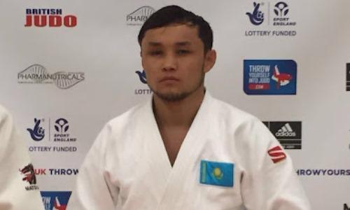 Казахстанский дзюдоист вышел в финал Паралимпийских игр в Токио