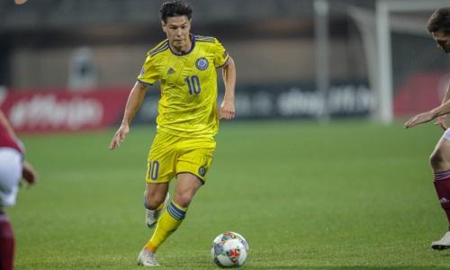 Георгий Жуков официально вызван в сборную Казахстана
