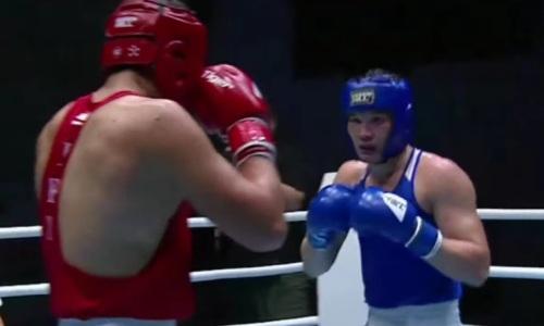 Казахстанский тяжеловес стал финалистом молодежного чемпионата Азии по боксу