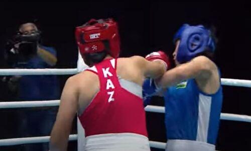 С двумя досрочными победами казахстанские боксерши обошли Узбекистан в борьбе за финалы МЧА-2021