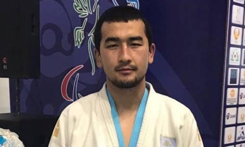 Казахстанский дзюдоист пробился в полуфинал Паралимпиады-2020