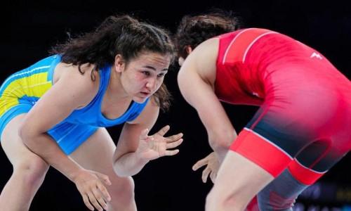 Стал известен состав женской сборной Казахстана по борьбе на чемпионат мира