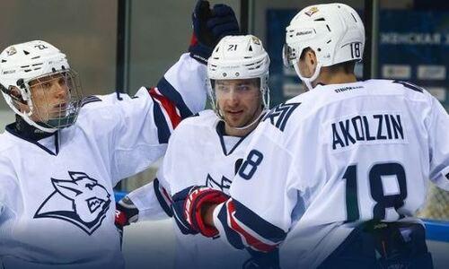 Хоккеисты сборной Казахстана помогли своему клубу разгромить «Салават Юлаев» перед стартом в КХЛ