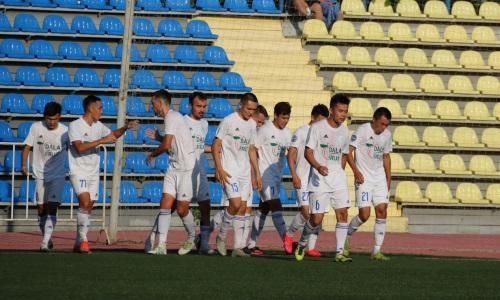 «Окжетпес» уверенно выиграл у фарм-клуба «Шахтера» в матче Первой лиги